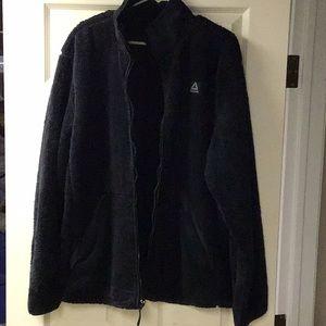 NWT Reebok Men's fleece jacket 2XL